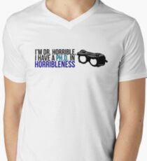 PhD in Horribleness B Mens V-Neck T-Shirt