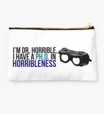 PhD in Horribleness B Studio Pouch