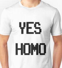 Yes, Homo. Slim Fit T-Shirt