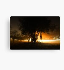 New Years Eve Fog Canvas Print