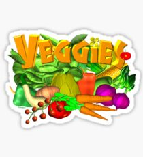 Veggie Salad by Valxart Sticker