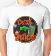 Detox with Juice by Valxart T-Shirt