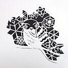 winter owl  by Hannah STICKNEY