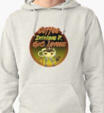Coffee Drinkers are great lovers  Valxart.com Pullover Hoodie