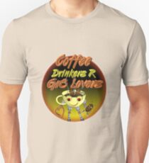 Coffee Drinkers are great lovers  Valxart.com Unisex T-Shirt