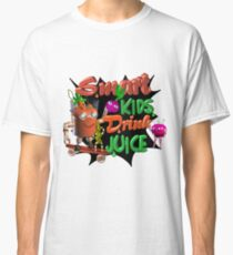 Smart Kids drink juice by Valxart  Classic T-Shirt