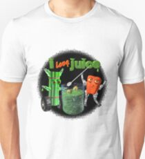 I Love Juice w/ celerybot by Valxart    Unisex T-Shirt