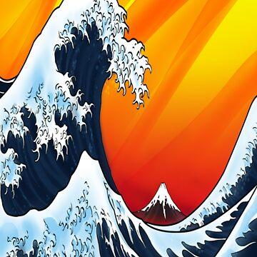 Japanese Wave by grevengrevs