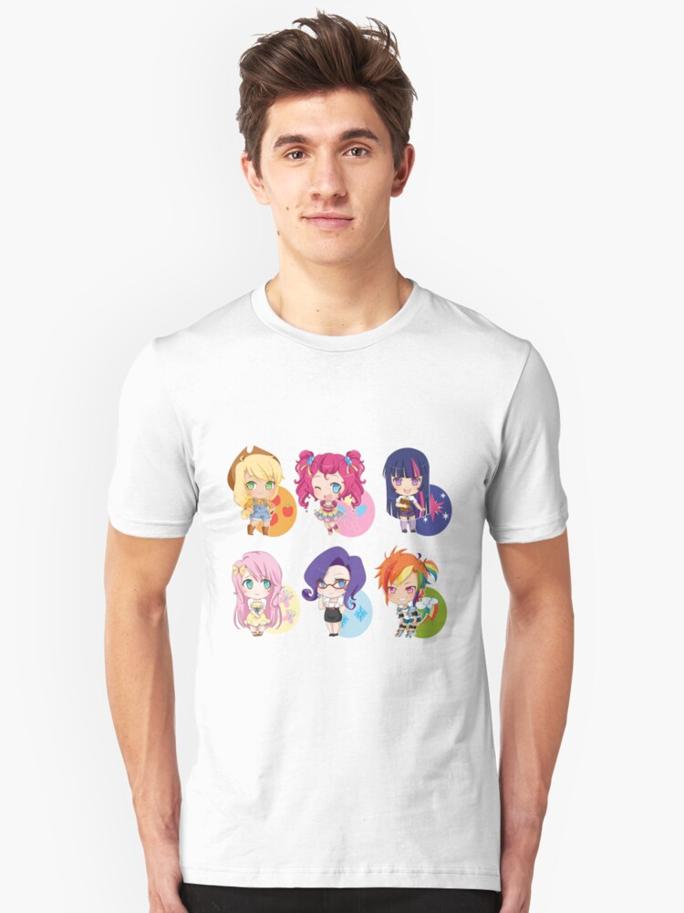 My Little Pony Banner Unisex T-Shirt Front