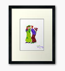 Molly and Arthur Weasley Framed Print