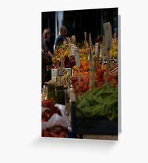 Rialto Fruit + Veg Market 2 Greeting Card