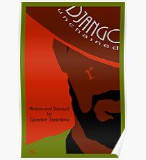 Django Unchained custom movie poster Poster