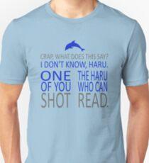 HE SHOT HARU Unisex T-Shirt