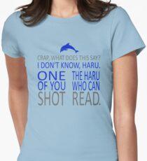 HE SHOT HARU Women's Fitted T-Shirt
