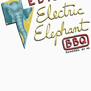 Electric Elephant BBQ by vonplatypus
