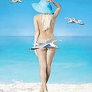 Ocean Blue by Cliff Vestergaard