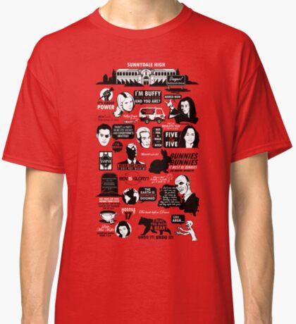 Citas de Hellmouth Camiseta clásica