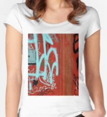 Red Vix Cover Women's Fitted Scoop T-Shirt