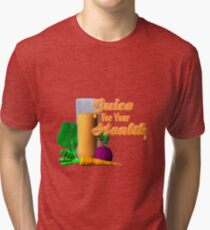 Juice for your health by Valxart  Tri-blend T-Shirt
