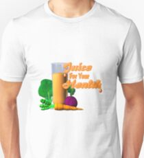 Juice for your health by Valxart  Unisex T-Shirt