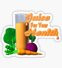 Juice for your health by Valxart  Sticker