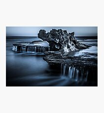 Blue Dragon Rock Photographic Print