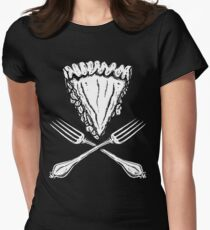 Kuchen (Rate) Tailliertes T-Shirt für Frauen