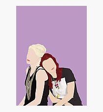 Skins UK - Naomi and Emily  Photographic Print