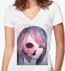 Jessica Not So Darling Women's Fitted V-Neck T-Shirt