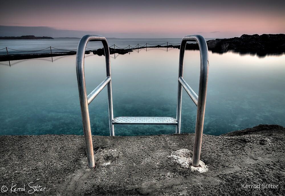 Kiama Rock Pool Sunrise by Kerrod Sulter