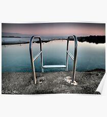 Kiama Rock Pool Sunrise Poster