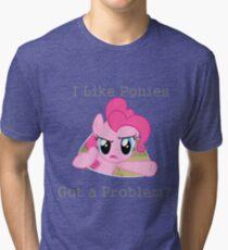 Pinkie Problem Tri-blend T-Shirt