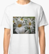 Daisies,daisies everywhere... or at least in this flowerbed. Classic T-Shirt