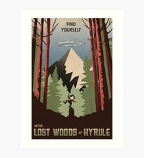 Find Yourself In the Lost Woods Art Print
