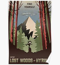 Find Yourself In the Lost Woods Poster