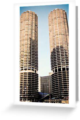 Corn Cob Buildings by kalikristine