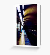 Chicago El Tunnel Greeting Card