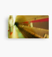 Warped El Tunnel Metal Print
