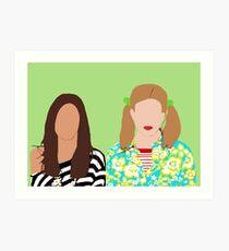 Skins UK- Effy & Pandora Art Print