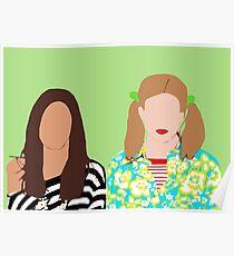 Skins UK- Effy & Pandora Poster
