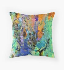 Butterfly in Hiding Throw Pillow
