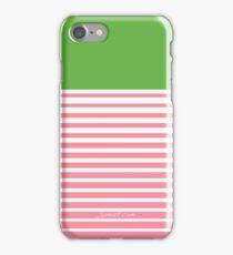 Alpha Kappa Alpha Stripes iPhone Case/Skin