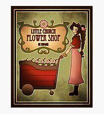 Midgar Flower Shop Photographic Print