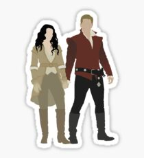 Snow White and her Prince Charming Sticker
