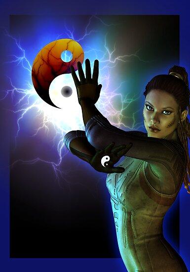 yin yang by shadowlea