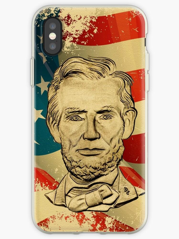 Abe Lincoln Grunge by alexasean
