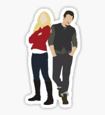 Swanfire - Once Upon a Time Sticker