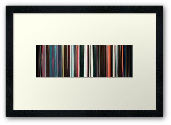 Moviebarcode: Beyond the Black Rainbow (2010) by moviebarcode