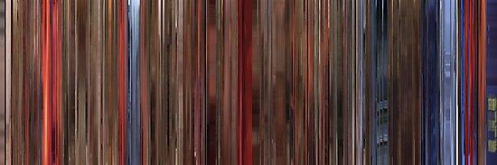 Moviebarcode: Raise the Red Lantern / Da hong deng long gao gao gua (1991) by moviebarcode