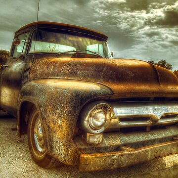 Vintage Ford Pickup Truck by malbraman